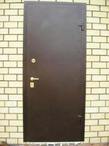 сколько стоит сварить входную дверь в ручную